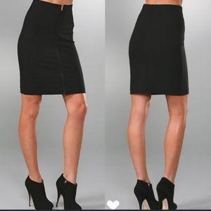 Theory Ansena Zip Pencil Skirt zipper